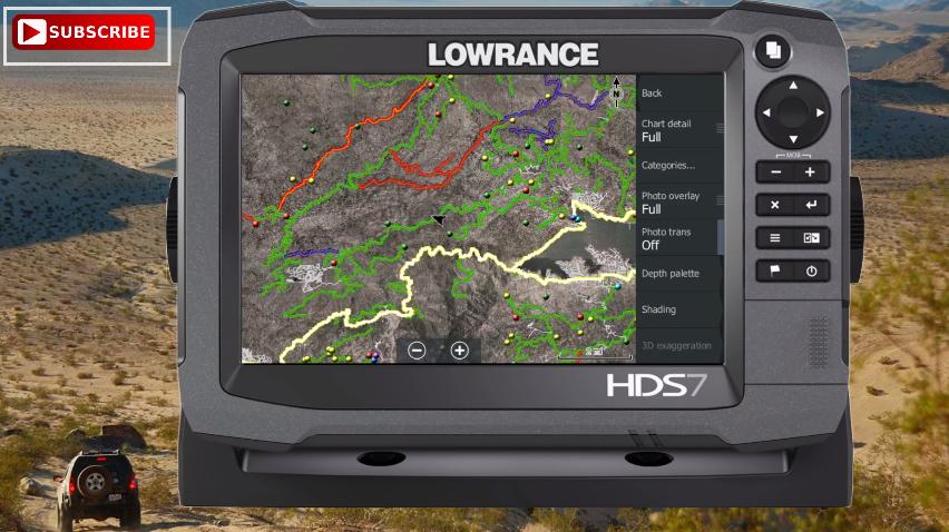 lowrance off road HDS7 Gen3